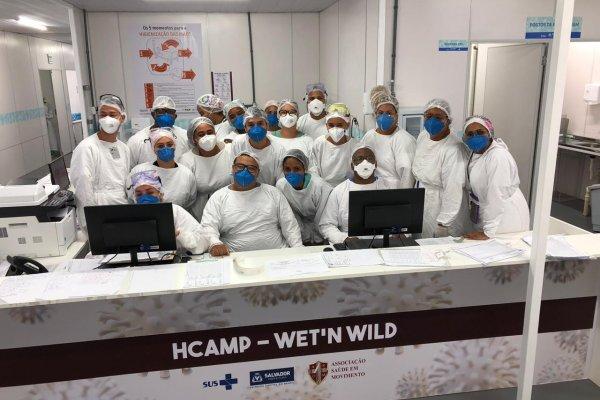 [Em 06 meses de pandemia, Hospital de campanha do Wet'n Wild já atendeu mais de 940 pacientes]