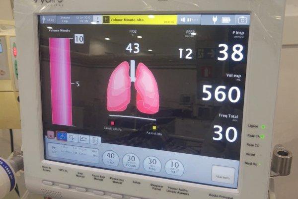[Hospital Arena Fonte Nova conta com equipamentos de última geração para ventilação não invasiva]