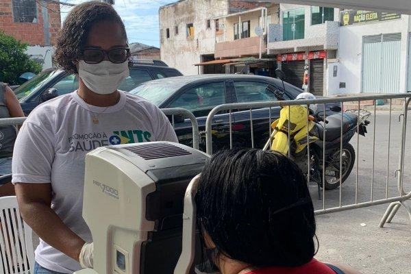 Mais de 300 pessoas realizaram exames oftalmológicos gratuitos em Massaranduba