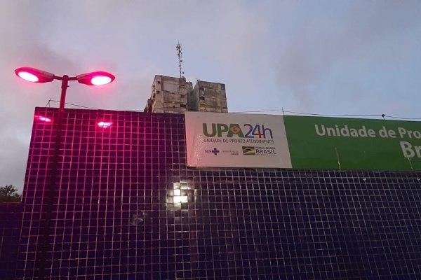 INTS ilumina fachadas de unidades de saúde em prol do Outubro Rosa